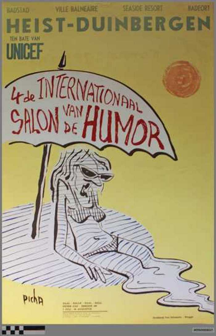 4de internationaal salon van de Humor Heist-Duinbergen