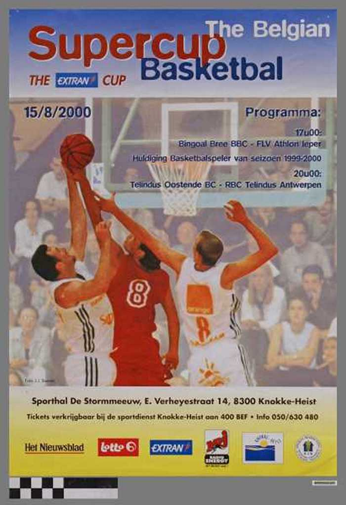 The Belgian Supercup Basketbal, The extran Cup 2000
