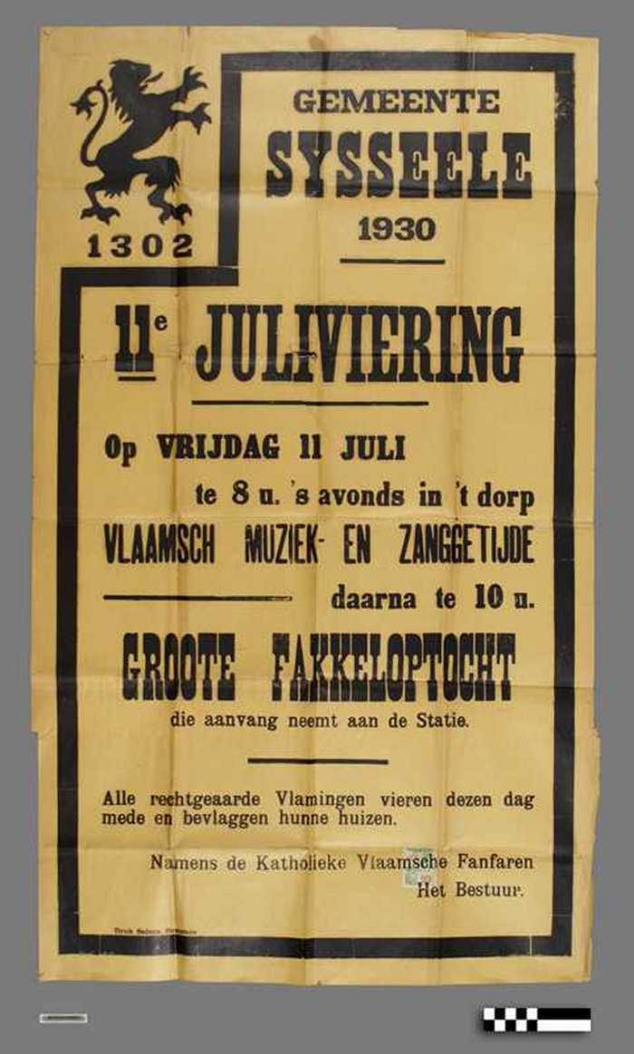 11e juliviering Sysseele - 1930