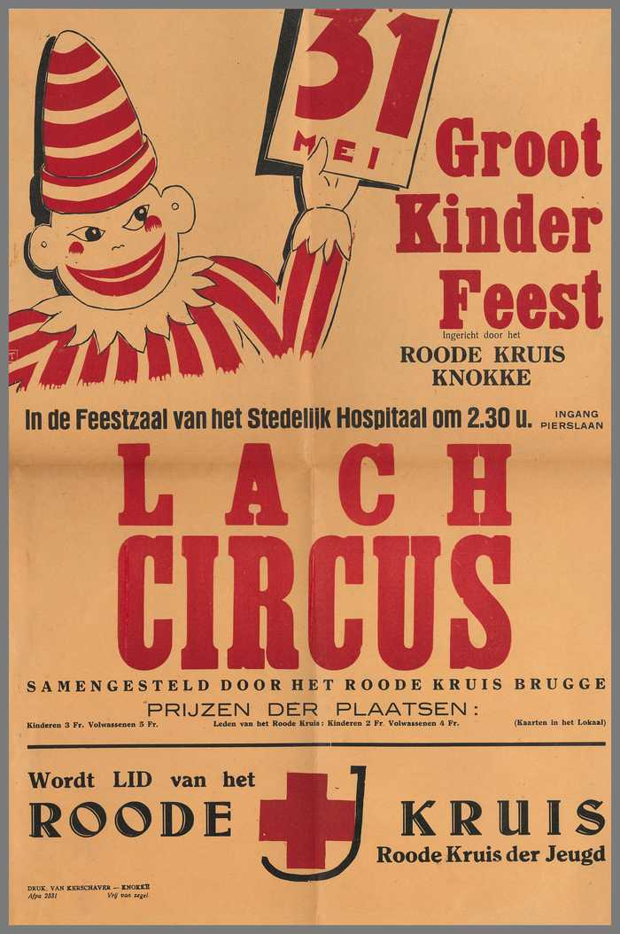 Groot kinderfeest - Lach circus - 31 mei