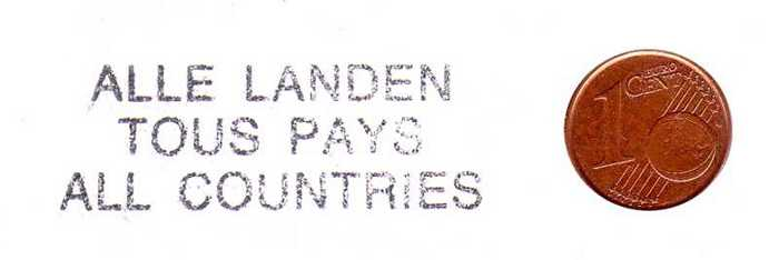 ALLE LANDEN - TOUS PAYS -  ALL COUNTRIES